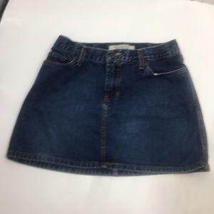 Abercrombie & Fitch women's jean skirt sz 2